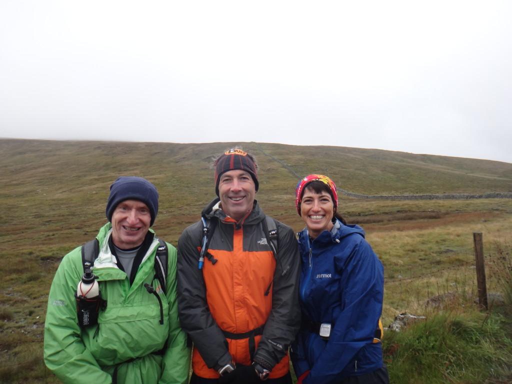 L-R: Gerry, Gareth, Kathleen